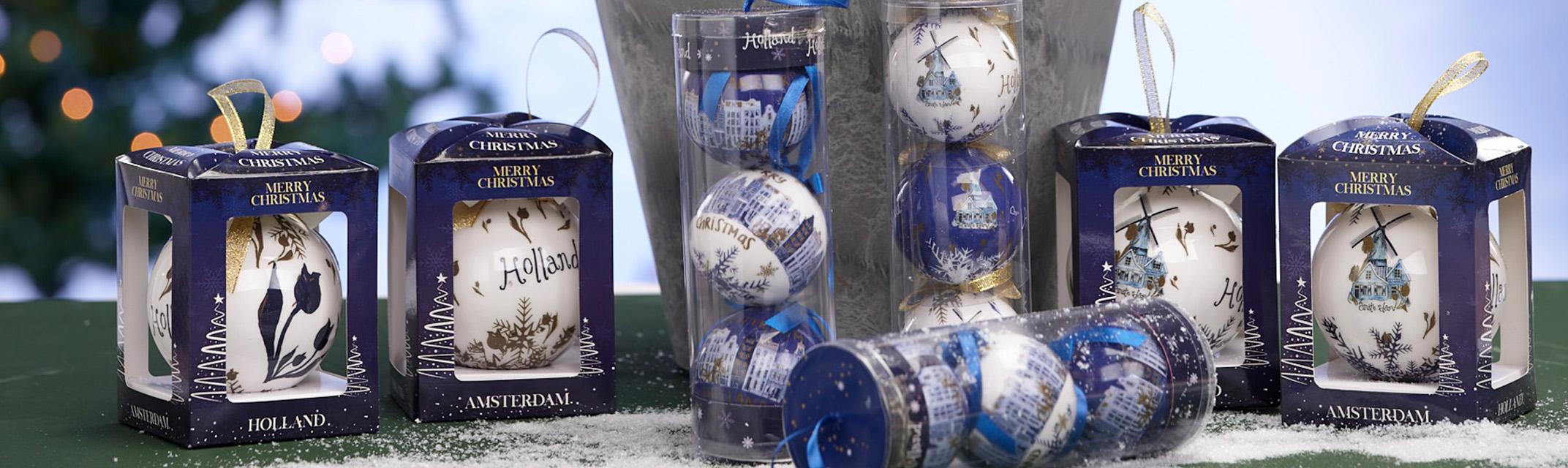 Giftbox kerstbal