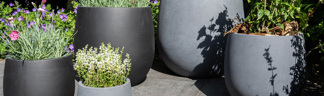 TS Collection outdoor pots