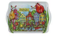 Dienblad Grachtenhuizen Amsterdam kleur D25x18 H2