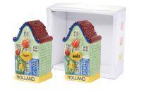 Giftbox poivre et sel Grachtenhuis couleur D10x4 H10
