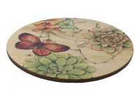 Box floorprotector botanic Deco colour D26x20 H25